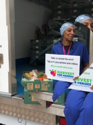 Harvest for Heroes, Free vegetables, fruit, eggs for NHS workers and staff